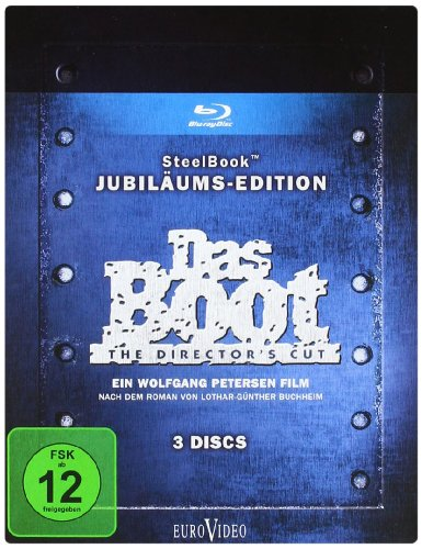 Das Boot - Steelbook (Jubiläums Edition, 3 Disc) [Blu-ray]