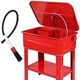 Teilewaschgerät inkl. Waschpinsel und zusätzlicher Einlege-Waschplatte, 80 Liter - Teilewascher Kaltreiniger
