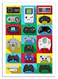 Art-Poster 50 x 70 cm - Legendary Controllers - Olivier Bourdereau