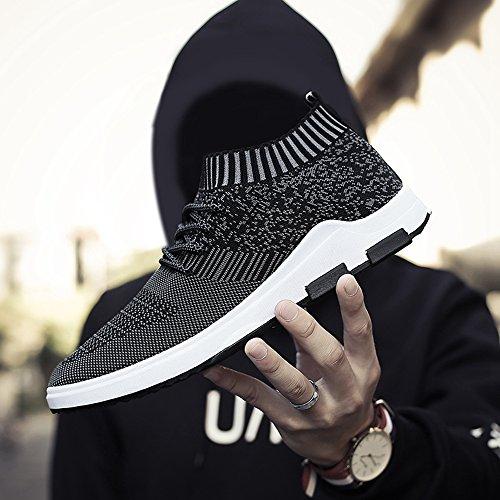 Sitaile Confortevole Per Il Tempo Libero Sneaker Sneakers Sneakers Sport Scarpe Da Corsa Per Uomo Nero