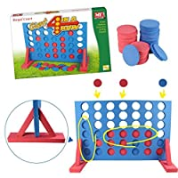 Kids Large Giant 4 In A Row Game Garden Indoor Outdoor Family Set