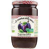 Le Conserve della Nonna Confettura di Prugna Tipo Modena Ottenuta da Frutta Fresca e con Zucchero di Canna - 800 gr - [confezione da 3]