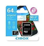 Cibox - carte Micro-SD eXpend + adaptateur - 64 Go