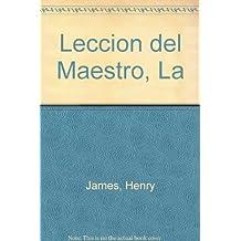 Leccion del Maestro, La