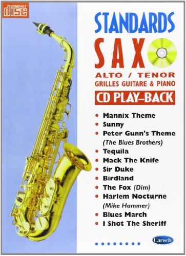 Standards Saxo Alto et Tenor, avec Grill...