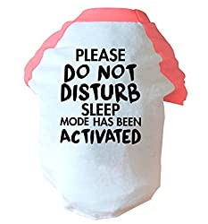 Please do not disturb sleep mode has been activated two toned dog vest | pink or blue | Flox Creative