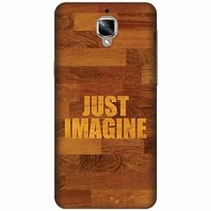Printland Designer Back Cover For OnePlus 3T - Imagine Designer Cases
