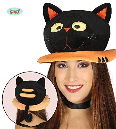 (Guirca Süßer Katzen Hut für Erwachsene Halloween Horror Party Zubehör Katze Mütze Kopf)