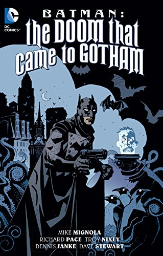 Geschichte Kostüm Schurke - Batman: The Doom That Came To Gotham