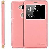 Funda Huawei GX8 (G8) RIO-L01 / RIO-L11 Cover Flip Wallet [zanasta Designs] Case Cubierta de la ventana de la alta calidad, protección de la cámara | Rosa