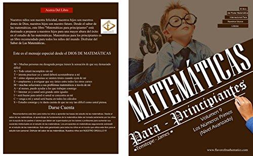Descargar Libro Los Números Primos (Nivel avanzado) (Volume 9): Matematica Para Principiantes de Temitope James