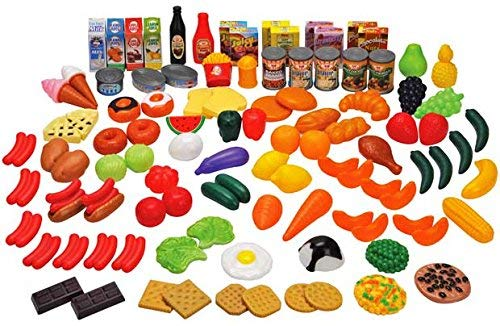 Chad Valley Spiel-Lebensmittel-Set, 104-teilig
