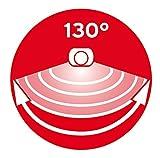 Brennenstuhl LED-Spot SOL / LED-Leuchte für außen mit Bewegungsmelder und Solar-Panel (IP44, inkl. Akku, 8 x 0,5W) Farbe: anthrazit -