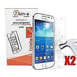 [X2 Pack] Skin-a Pellicola Protettiva in Vetro Temperato per Samsung Galaxy S3 Neo i9303