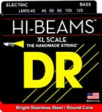DR Strings - Hi-Beam Extra Long Scale Stainless Steel Round Core 5 String