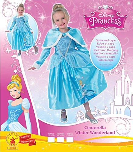 Imagen de rubie's  disfraz de princesa disney cenicienta, invierno en wonderland para niña, talla s i 881850s  alternativa