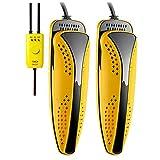 AUTOECHO Scarpe Asciugatrice Retrattile Scarpe Calde Deodorante Sterilizzazione Scarpe riscaldanti Dual-Core Asciugatrice Silenzioso