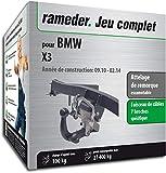 Rameder Attelage escamotable pour BMW X3 + Faisceau 7 Broches (149337-08763-1-FR)