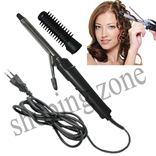 Nova Professional Hair Curler Straightener Curling Iron Rod hair Styler Care 15W  available at amazon for Rs.499