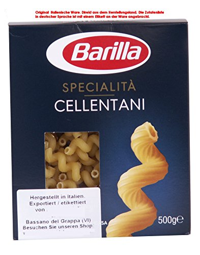Barilla Specialità Cellentani 10 x 500g 5000g Teigwaren aus Hartweizengrieß