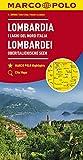 MARCO POLO Karte Italien Blatt 2 Lombardei, Oberitalienische Seen 1:200 000 (MARCO POLO Karten 1:200.000) - Collectif