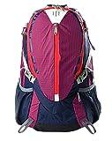Xin Su Ultra-langlebig Leicht Reise-Rucksack Wandern Tag Taschen Ultra-Licht Outdoor-Reisen Camping Reit-Rucksack. Mehrfarbig,Purple-29*20*43cm