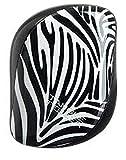Tangle Teezer Compact Styler Detangling Brush, BLACK/ZEBRA