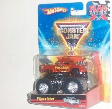 Hot Wheels 46/75 Monster Jam 2010 Flag Series Hot Wheels Originals 1:64 Scale - Pillage Idiot by Hot Wheels | Une Bonne Réputation Dans Le Monde Entier