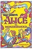 Vintage 'Alice au Pays des Merveilles' Grande affiche du film Poster Movie
