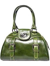 Florence Leather Market Sac à main porté épaule avec double lanière 6539
