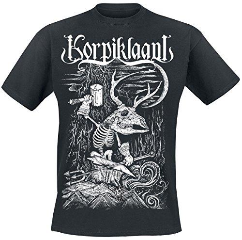 Korpiklaani Blacksmith T-Shirt nero XL