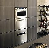 KitchenAid kocv 4510Backofen–Öfen (integriert, A, Edelstahl, Knöpfe, drehbar, vor, LCD)