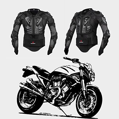 Motorrad Schutz Protektoren Motorradjacke Hemd Brustschutz Fallschutz Schutzjacke M-XXXL - 7