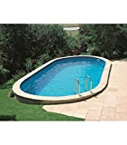 Unbekannt Gre KPEOV8127–Pool oval interrata Dim: 800x 470H 120