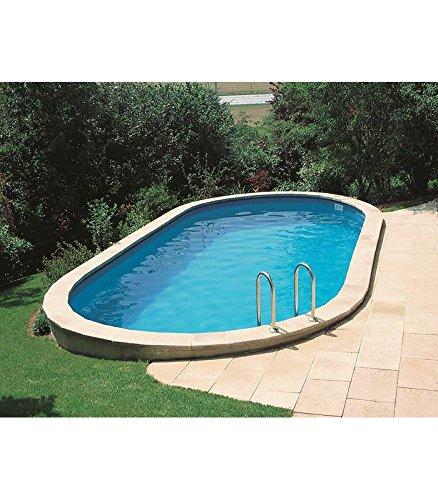 Gre kpeov8127 - piscina ovale interrata dim: 800x470 h 120