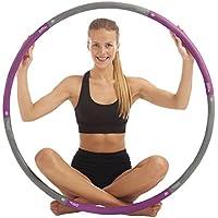 just be.® Aro de fitness Hula Hoop para ejercicios físicos - Violeta 1,4KG