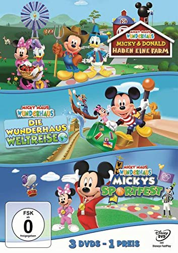 s - Sportfest/Weltreise/Farm (Dreierpack) [3 DVDs] ()