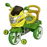 #7: Dash Kids Tricycle with Under seat Storage Space, Lights and Music (Green)