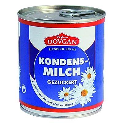 Dovgan Gezuckerte Kondensmilch, 6er Pack (6 x 397 g)