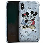 Apple iPhone X Hülle Premium Case Cover Disney Minnie & Mickey Mouse Merchandise Geschenke