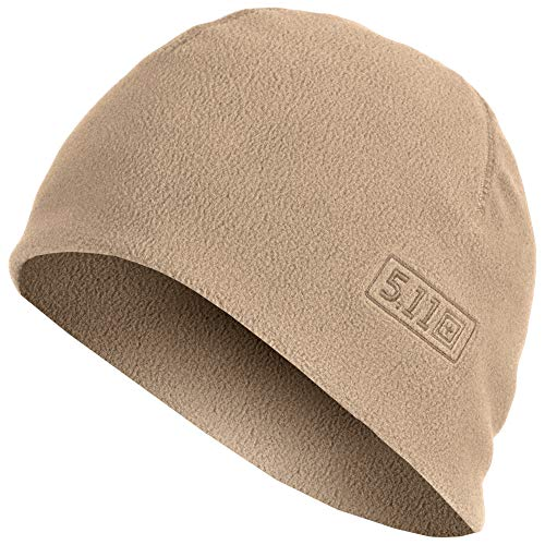 5.11 Tactical Watch Cap Cold Weather Outdoor Fleece Beanie Style 89250, Herren, Coyote Brown, Large/X-Large