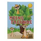 Goldbuch, Freundebuch Erdmännchen, 21x15cm, 72 Seiten, Bunt, 430229