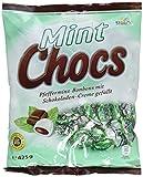 Mint Chocs – Erfrischende Pfefferminz-Bonbons, im Kerngefüllt mit leckerer Schokoladencreme – (15 x 425g Beutel)