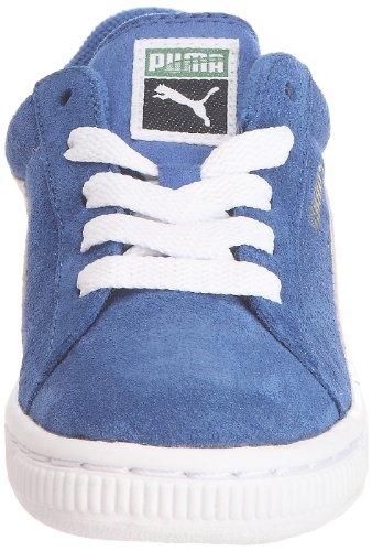 Puma Kds Suede Classic, Baskets mode mixte enfant Bleu (2)
