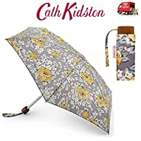 Cath Kidston Sketched Rose Tiny Flat Handbag Size Folding Umbrella & Matching Case 7S3464