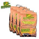 Grillmais 4X 3 Kg Maiskohle 100% Natur 100% nachhaltig Bio Grillen bis 800C°
