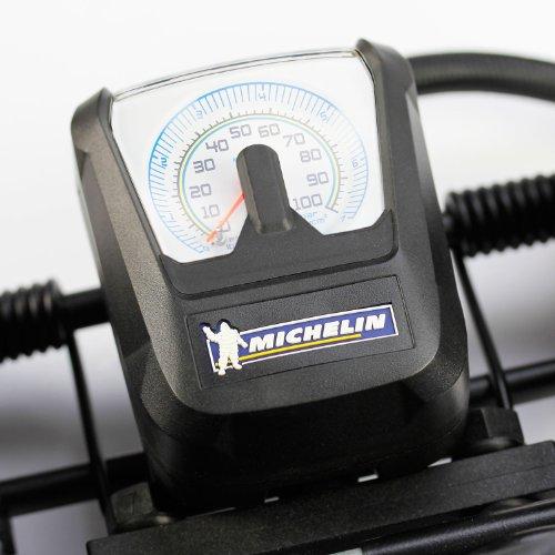 Michelin-92418-Pompa-a-pedale-1-cilindro-con-manometro