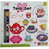 Adichai Paint Your Own Ceramic Tea Set