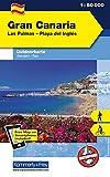 Gran Canaria Las Palmas - Playa del Inglés: Outdoorkarte Spanien, 1:50 000 Wandern, Rad Free Map on Smartphone included (Kümmerly+Frey Outdoorkarte International) - Kümmerly+Frey
