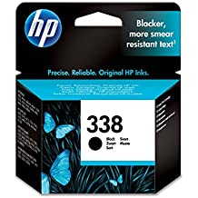 HP 338 - Cartucho de tinta Original HP 338 Negro para para HP DeskJet, HP OfficeJet, HP PSC, HP Fax